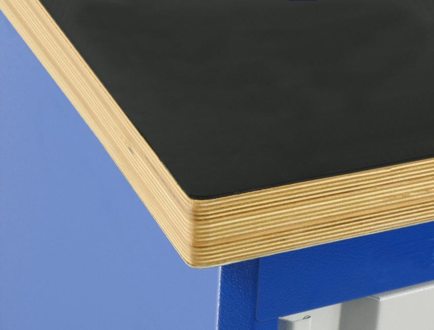 Blat stołu pokryty gumą gładką