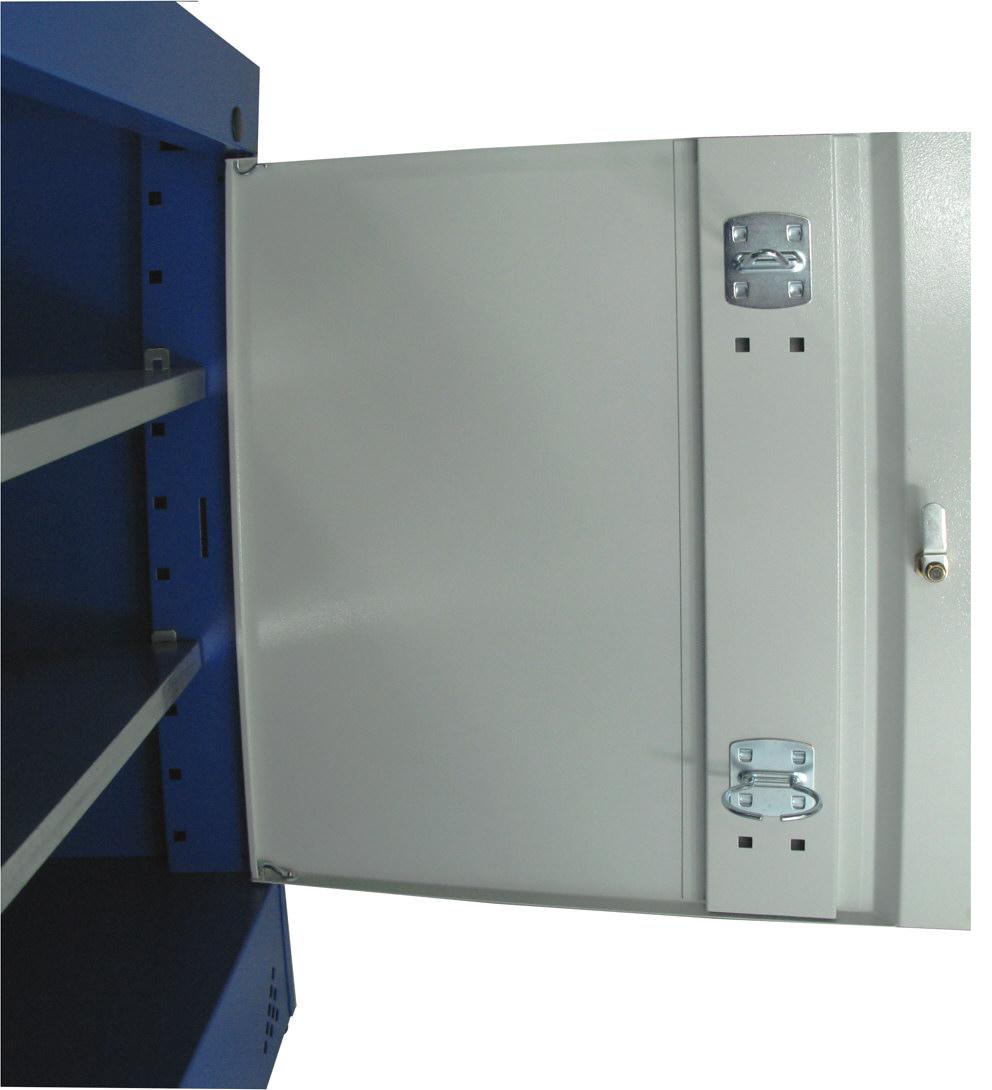 Drzwi szafki z perforacją na zawieszki