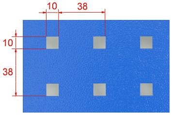 Wymiary perforacji