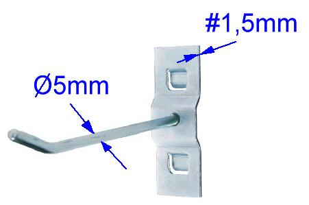 Wymiary elementów zawieszek