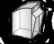 Pojemnik uchylny 0,14l