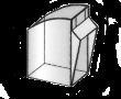 Pojemnik uchylny 0,47l