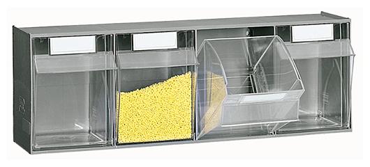 Zestaw pojemników uchylnych 2,5l