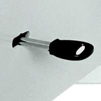 Zamek mechaniczny na klucz dwuzabierakowy