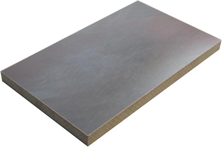 Płyta pokryta blachą ocynkowaną